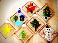db Studio Glass Holiday Ornament Projectr
