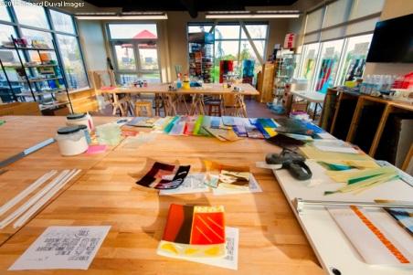 db Studio in Richland, Washington. Warm / fused / kilnformed glass studio