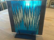 db Studio On-Edge Glass Strip Construction