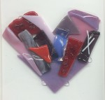 Create a Valentine's Day Heart in our Make It & Bake It sessions. db Glass Studio, Richland, Washington