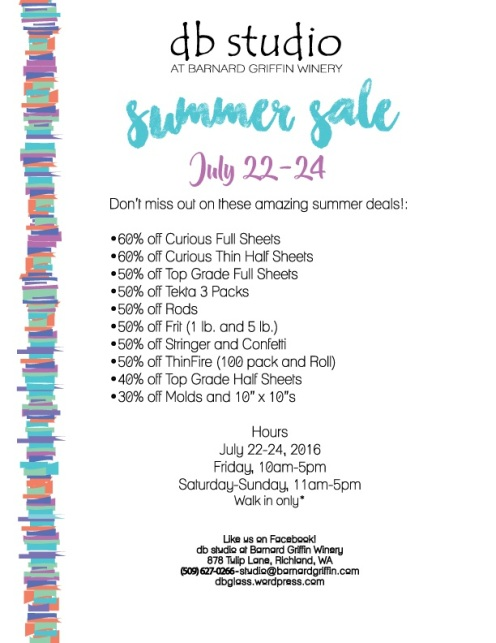 db Studio Summer Glass Sale